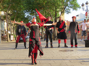 Festival inund'ART 2015. Espectacle Revoluclown